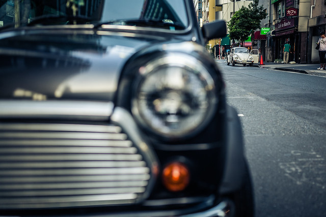 20130819_02_Old Mini & Old beetle