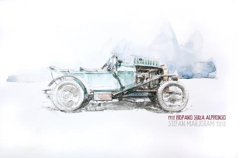 Hispano Suiza Alphonso by Stefan Marjoram