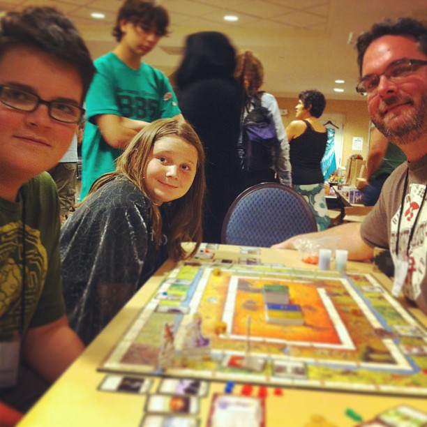 Playing Talisman #neuc #unschooling
