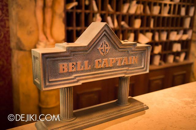 Tokyo DisneySea - Tower of Terror / bell captain