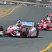 Justin Wilson leads the front runners into Turn 9 at Sonoma Raceway