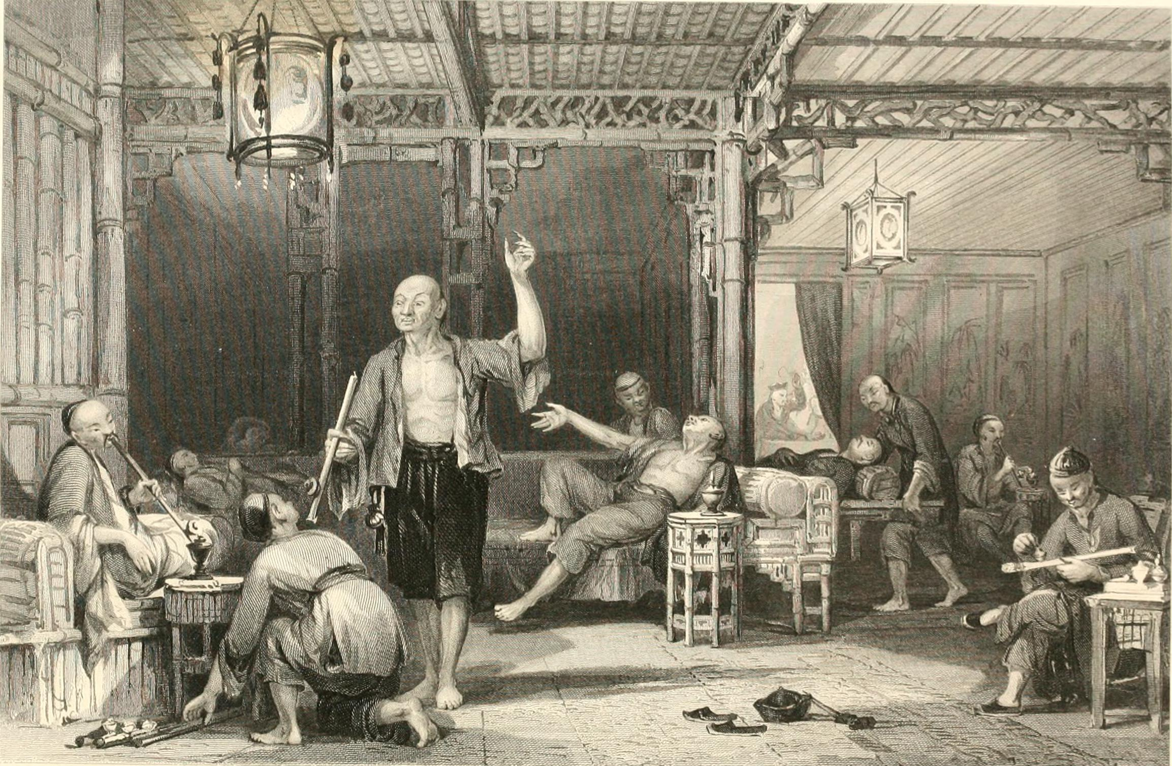 chinese opium smokers