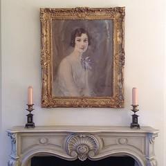 Gorgeous portrait in the visitors center at Bloedel Reserve. #seattle #bainbridgeisland
