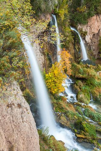 morning autumn favorite colorado unitedstates rifle waterfalls creeks waterscapes riflefallsstatepark eastriflecreek