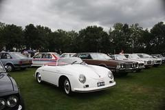 supercar(0.0), race car(1.0), automobile(1.0), wheel(1.0), vehicle(1.0), automotive design(1.0), porsche 356(1.0), subcompact car(1.0), city car(1.0), compact car(1.0), antique car(1.0), vintage car(1.0), land vehicle(1.0), sports car(1.0),