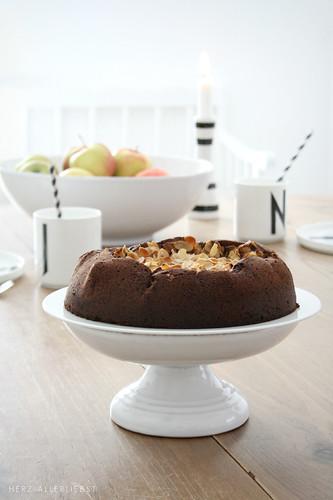 Schoko-Apfelkuchen