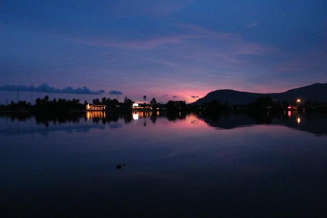 Kampot by night