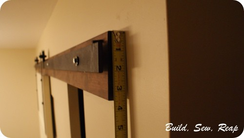 Pantry with DIY Barn Door Hardware by Julie @ Buildsewreap… | Flickr