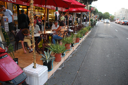 Park(ing) Day, San Francisco (by: Jamison Wieser, creative commons)