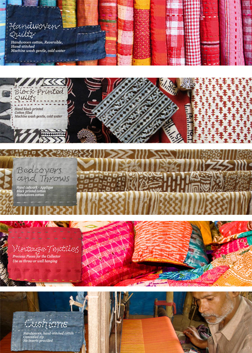 Sally Campbell handmade textiles