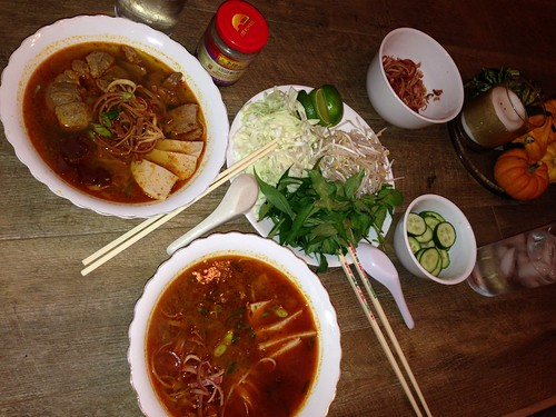 Housewife Tryouts and Bun Bo Hue