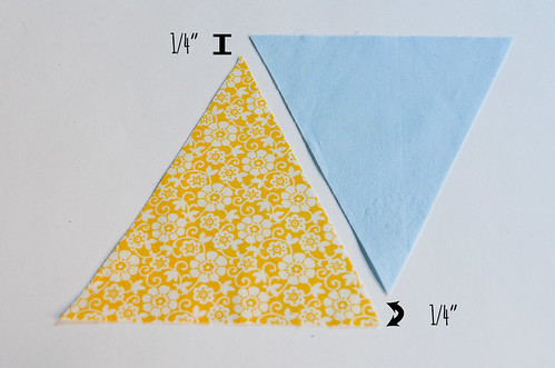 Step 4: Pick Up First 2 Triangles