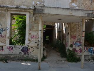 Door to nowhere...