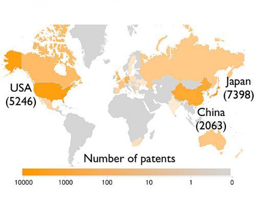 Китай активно патентует технологии альтернативной энергетики