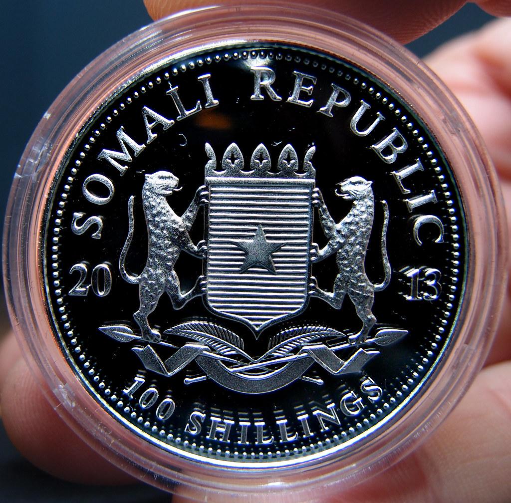 """Colección de onzas de plata """"Somalian African Wildlife""""  10275809544_b08bfe87ee_b"""