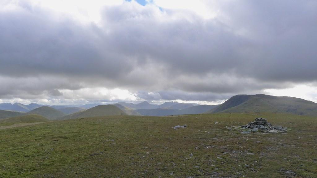 Summit of Beinn a'Chuirn