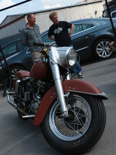 Harley Davidson Panhead 1965