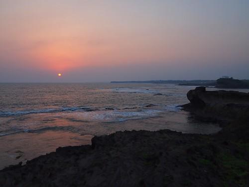 sunset diu greatnature