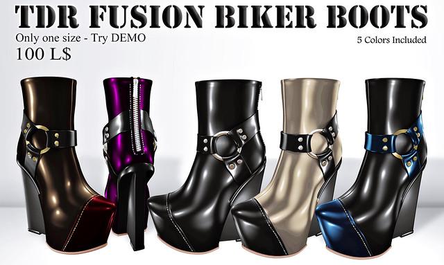 100L boots TDR Fusion