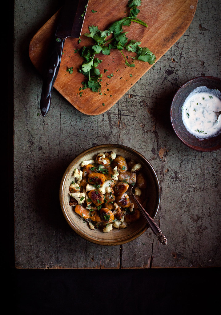 Curry-Spiced Kabocha Gnocchi wit