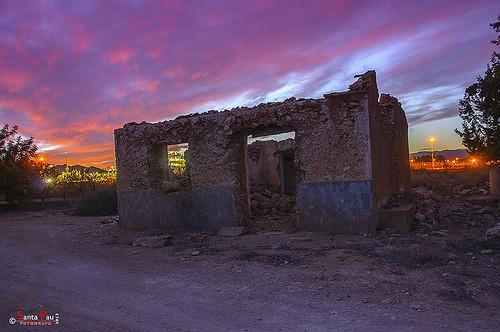 Ruina al Atardecer