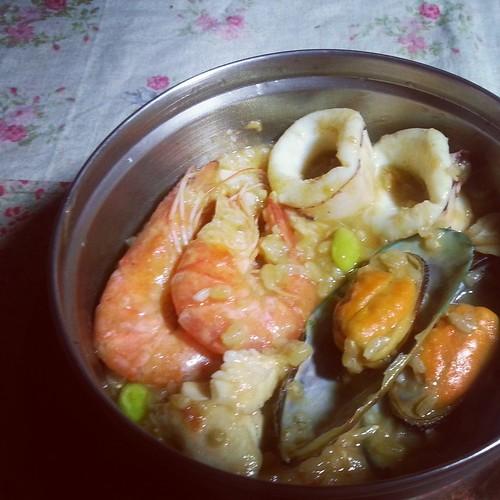 海鮮燉飯便當