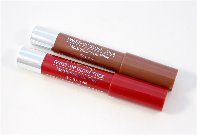 IsaDora cherry pie & biscuit twist-up gloss stick