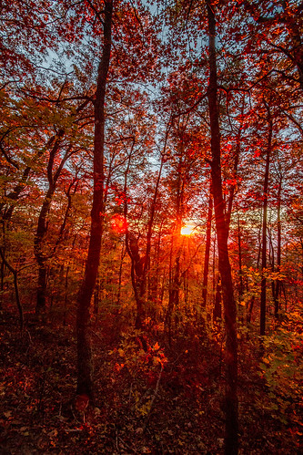 autumn ga wideangle goldenhour fortmountainstatepark