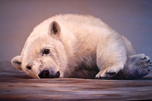 Polar Bear Paintings