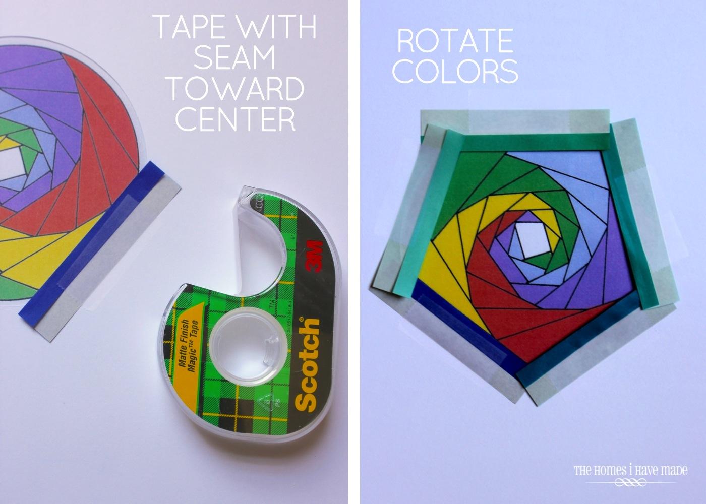 Iris Paper Folding Art-008