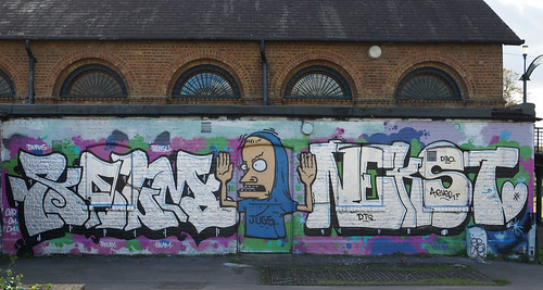 Lea Valley Graffiti