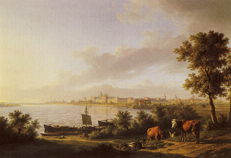 Karl Kuntz (1770-1830) - Stephanienpromenade Mannheim, 1812
