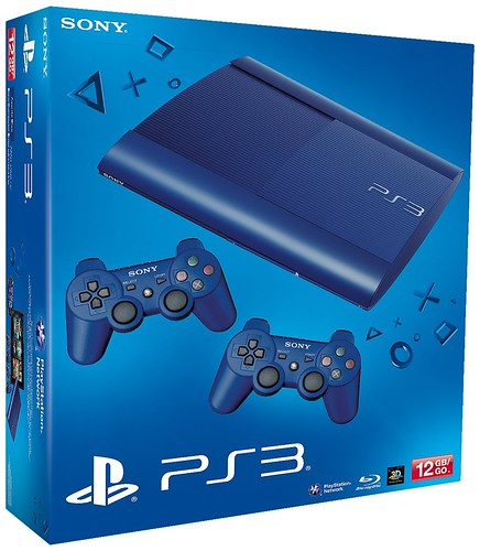 PS3 SuperSlim Blue