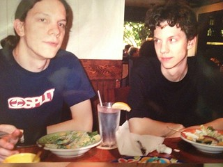 Jeremy with Jason Hammond