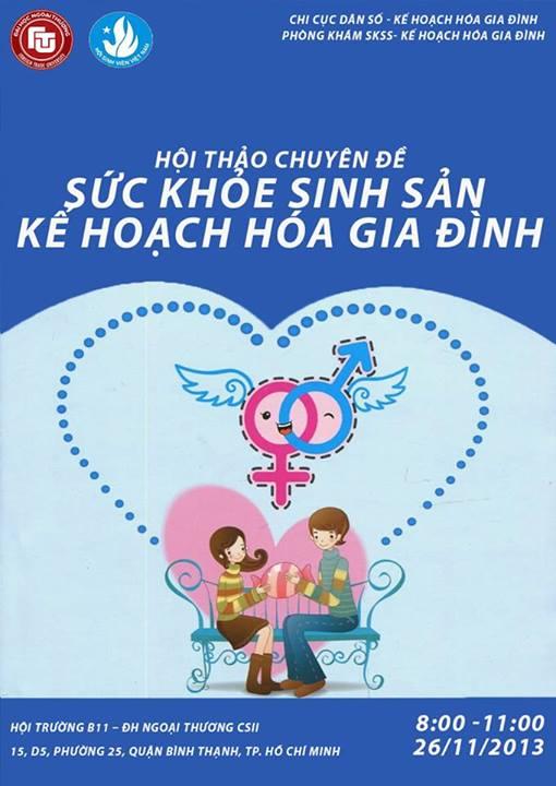 Hội thảo Tư vấn Sức khỏe sinh sản – Kế hoạch hóa gia đình