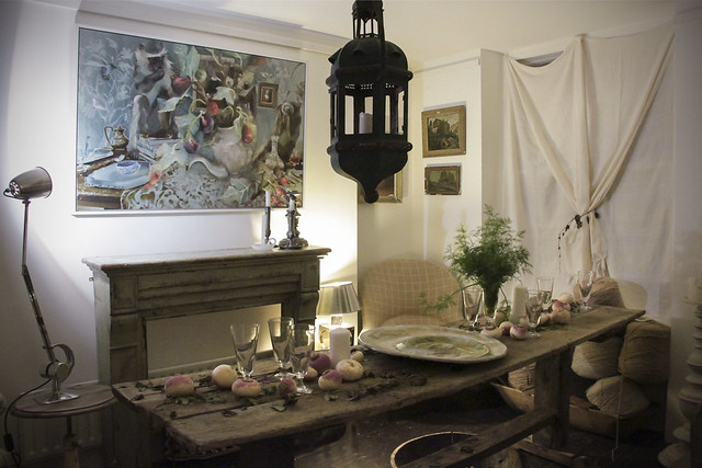 """Forrage"" pop-up exhibition Pre-view evening @ Josephine Ryan Antiques"