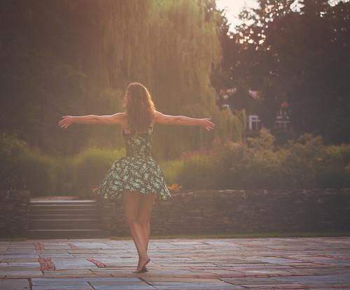 living like a gypsy queen in a fairy tale
