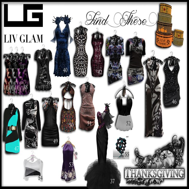 LIVGLAM&Friends-Thanks Giving Hunt Poster3