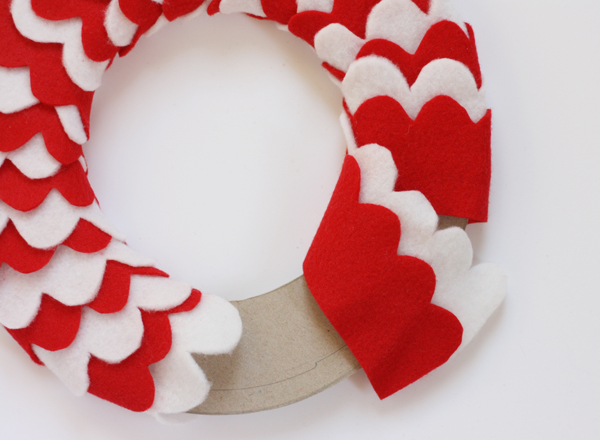 DIY Holiday - Candy Cane Wreath Tutorial