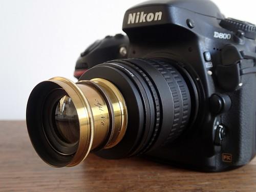 Nikon D800 with Hermagis Aplanat nº8 (sn 30953) nº 6
