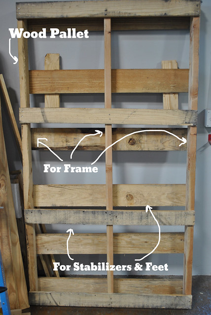 BYOBR Wood Pallet Parts