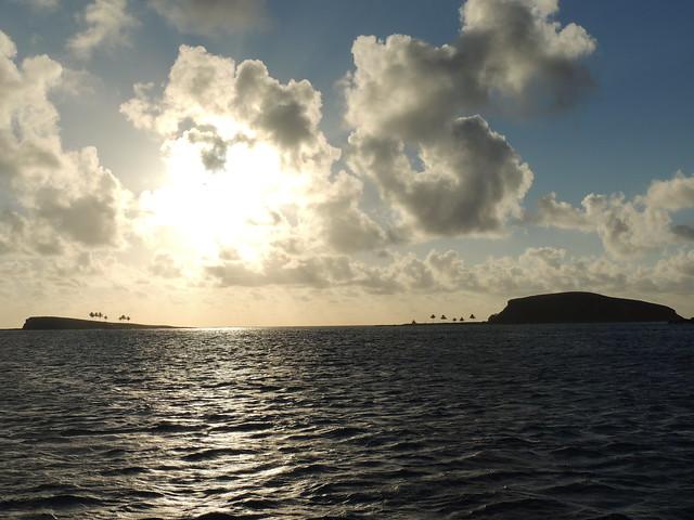 Atardecer en Ilha Setiba y Redonda - Abrolhos