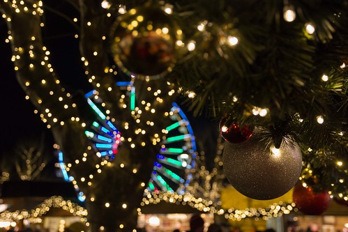 Christmas market Luxembourg 2 by Christian R. H