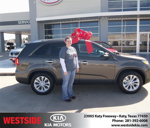 Happy Birthday to Rebecca R Teal from Rizkallah Elhallal and everyone at Westside Kia! #BDay by Westside KIA