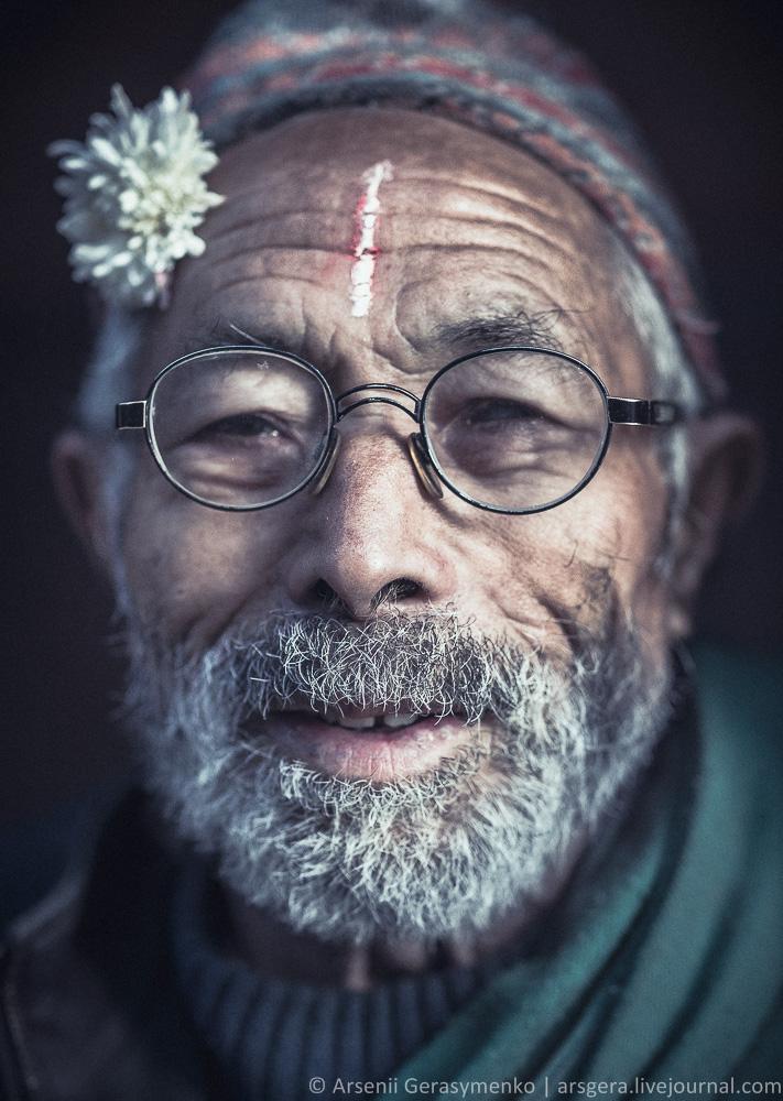 Portrait of Nepalese man