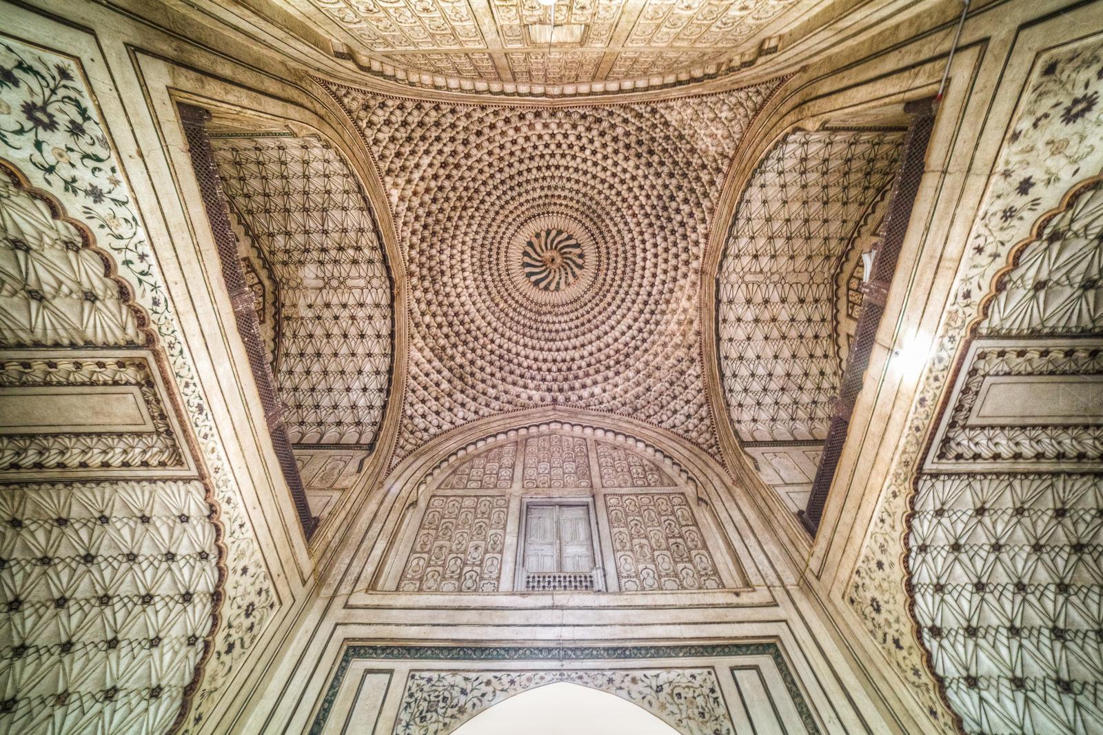 Bibi Ka Maqbara - Gateway's Ceiling