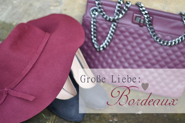 Outfit Große Liebe  Bordeaux Banner