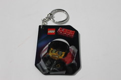 The LEGO Movie Accessory Pack Lenticular Bad Cop Keychain