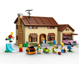LEGO Simpsons Home Exterior