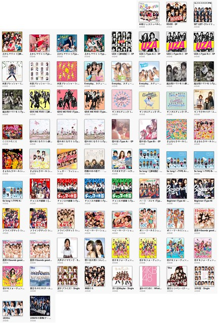 AKB48 Discography [iTunes Plus AAC M4A]: eterna_love